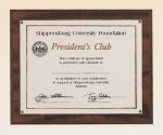 Cherry Finish Photo or Certificate Plaque. Certificate Plaques