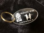 Shag Acrylic Oval Key Chains Everything SHAG