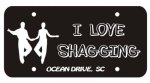 OD Shag License Plate Everything SHAG