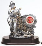 Fireman Resin Firefighter Trophy Awards