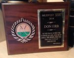 Hole in One Golf Plaque #CE581 Golf Awards